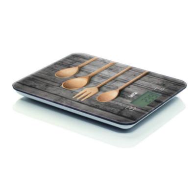 """LAICA digitális konyhai mérleg""""fakanál""""                   10 kg / 1 g"""