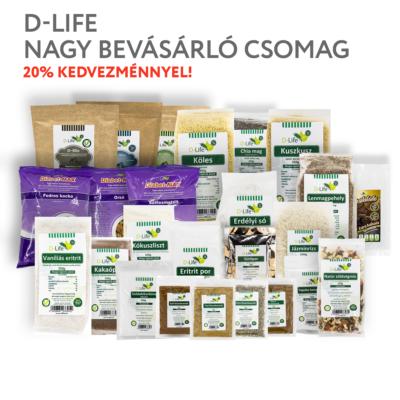 D-life nagy bevásárló csomag