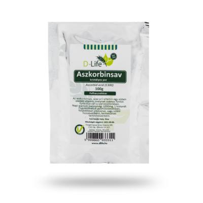 D-life Aszkorbinsav (c-vitamin) 100g