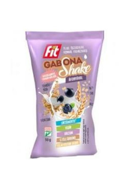Fitt gabona shake hozzáadott cukor nélkül áfonyával 50g