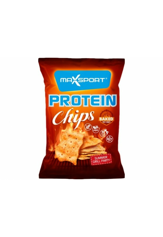 Max Sport protein chips grill party 45g