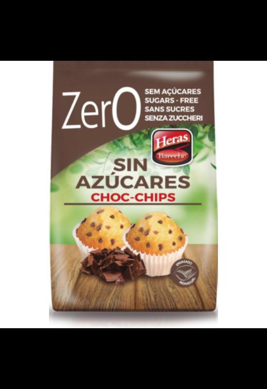 Heras 2 Mini muffin csokidarabos h. cukor nélkül 256g (1x9)