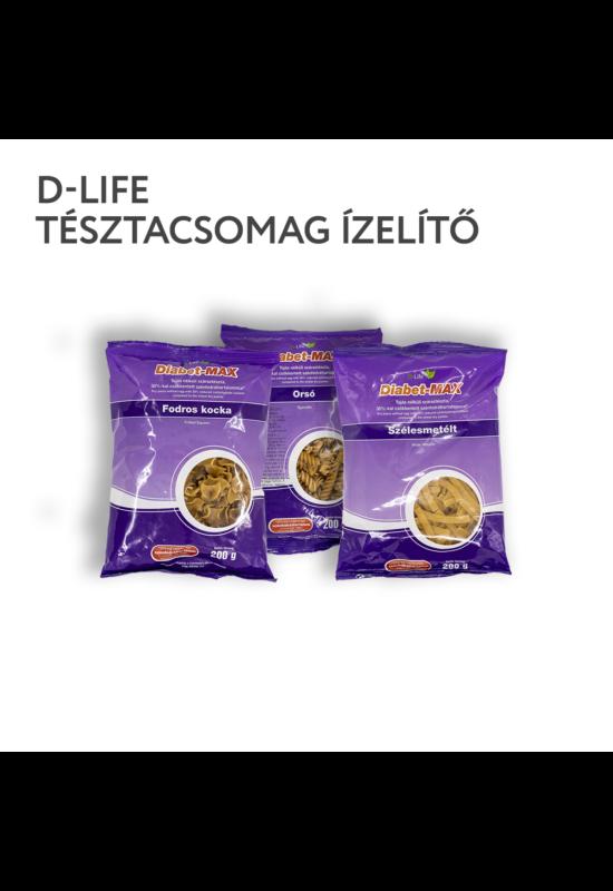 D-life szénhidrátcsökkentett tésztacsomag _ ízelítő