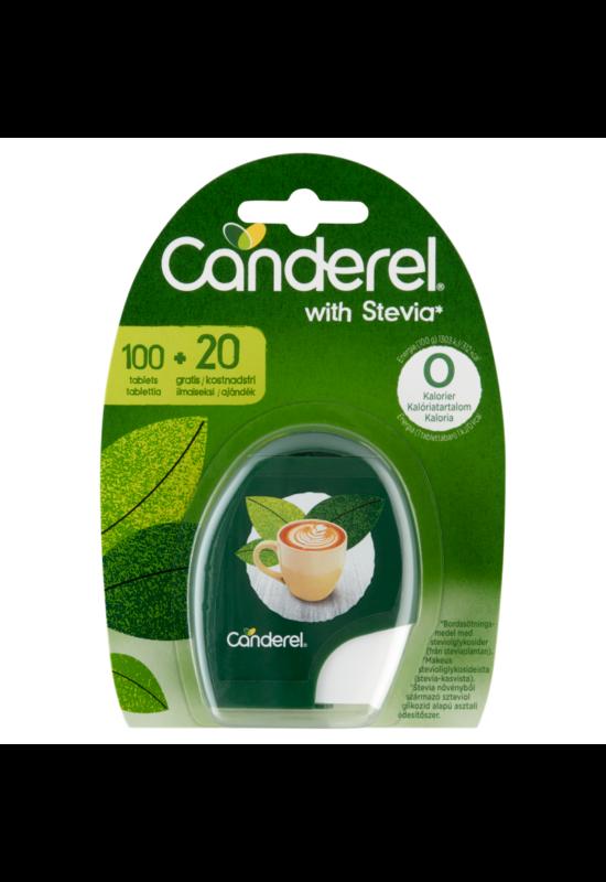 Canderel Stevia édesítő tabletta 100+20 db