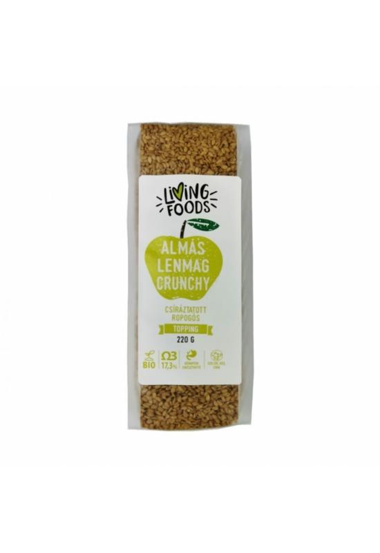 Living Foods Almés Lenmag Crunchy 220g