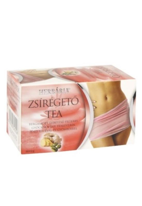 Herbária zsírégető tea 20 filter