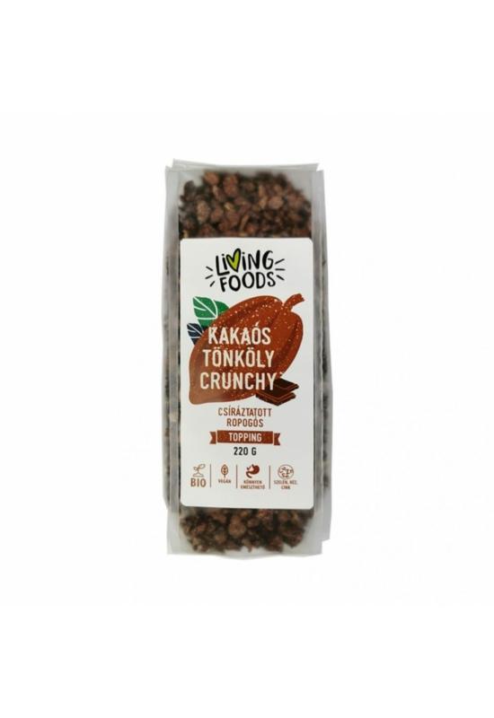 Living Foods Kakaós Tönköly Crunchy 220g