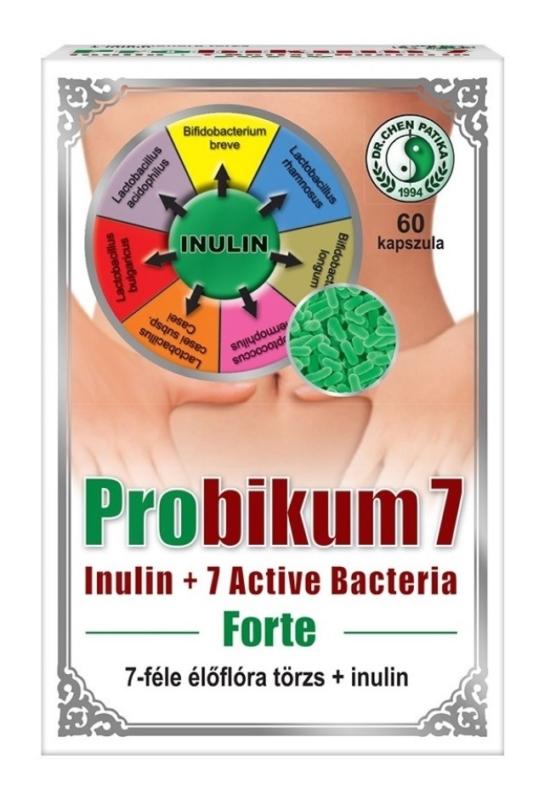 Probikum 7 Forte kapszula 60 db Dr. Chen patika