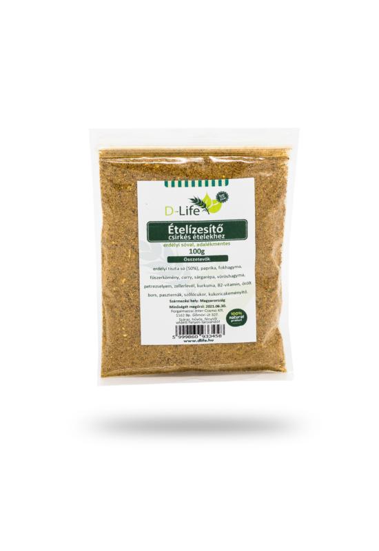D-life Csirkés ételízesítő (50% sóval) 25g