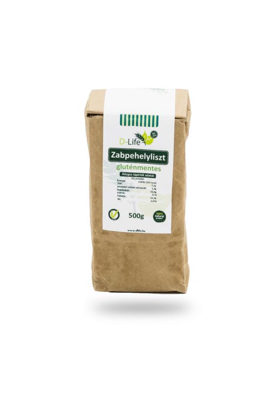 D-life Zabpehelyliszt (gluténmentes)  500g