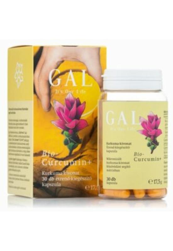 GAL bio curcumin+ kapszula – 30db