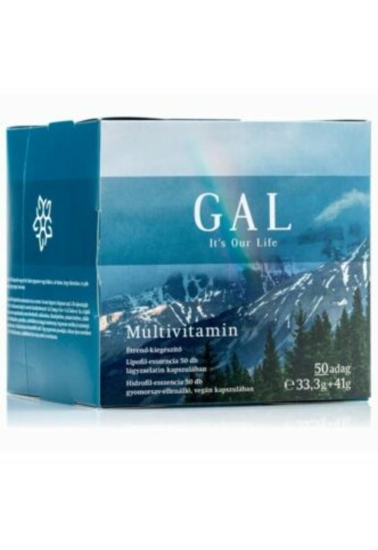 GAL Multivitamin 50 adag – 50db+50db