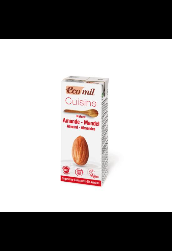 Bio ecomil mandula főzőkrém 200 ml cukormentes, gluténmentes