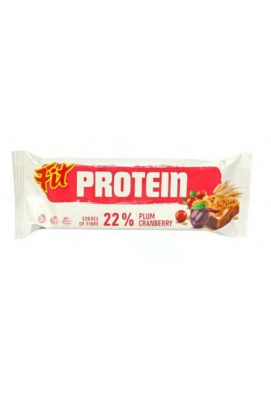 Fit protein müzliszelet vörösáfonyával és szilvával 35 g