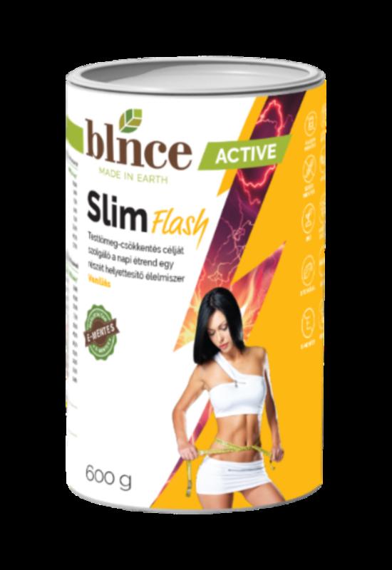 Blnce Slim Flash vaníliás 600g