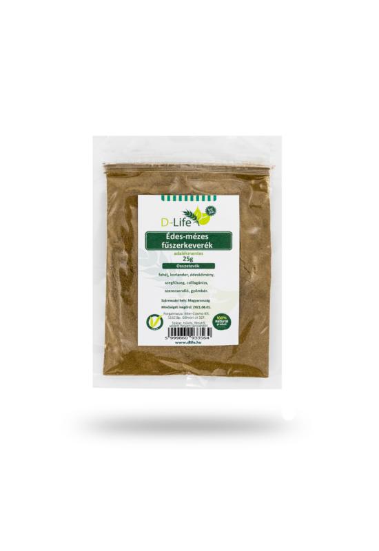 D-life édes-mézes fűszerkeverék (adalékmentes) 25g