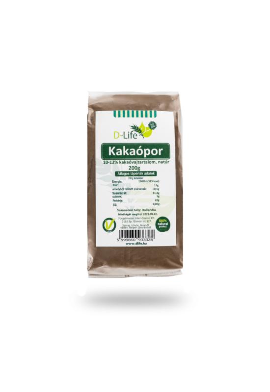 D-life kakaópor 10-12%