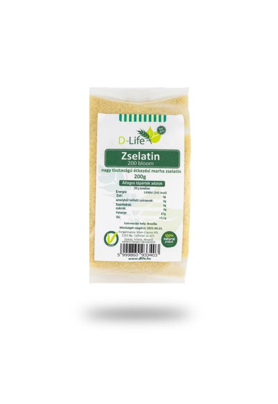 D-life Zselatin  200g